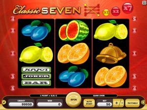 Kajot Automat Classic Seven Zdarma Online