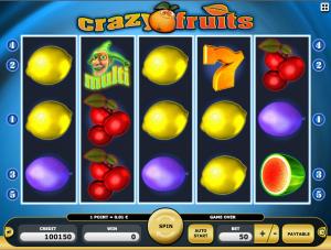 Kajot Automat Crazy Fruits Zdarma Online