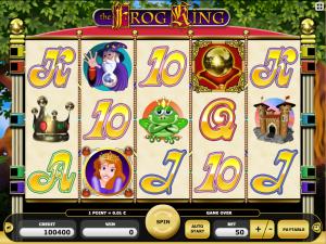 Kajot Automat Frog King Zdarma Online