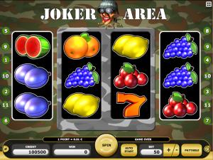 Kajot Automat Joker Area Zdarma Online