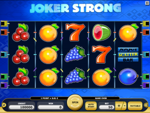 Kajot Automat Joker Strong Zdarma Online
