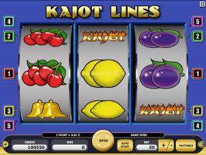 Kajot Automat Kajot Lines Online Zdarma