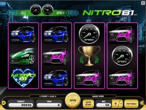 Kajot Automat Nitro 81 Online Zdarma