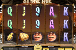 Kajot Automat Stone Age Zdarma Online