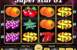Kajot Automat SuperStar 81 Online Zdarma