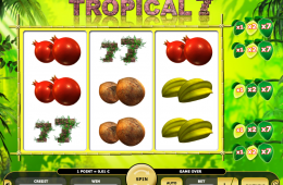 Kajot Automat Tropical 7 Zdarma Online