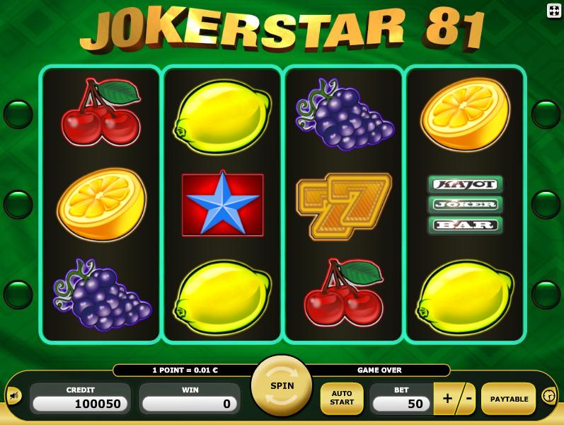 Joker Star 81